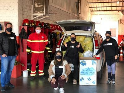 Vitrine do Bem: Comitê de Voluntariado Crisdu realizou campanha do agasalho