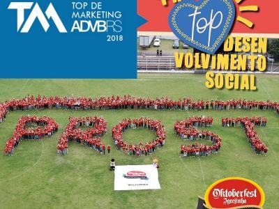 Oktoberfest de Igrejinha é Top de Marketing ADVB/RS