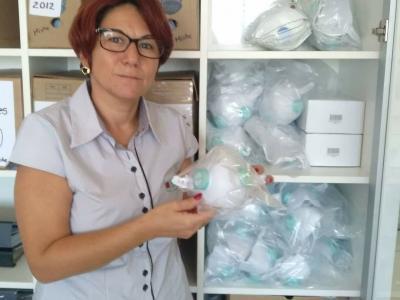 Vitrine do Bem: AFAH doa máscaras N95 para o Hospital Bom Pastor