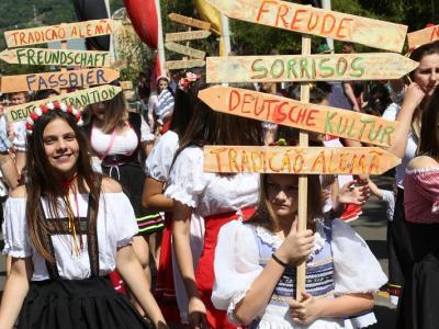 Desfile encantou Igrejinha
