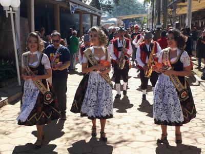 Expointer recebe amostra da alegria e diversão da Oktoberfest de Igrejinha