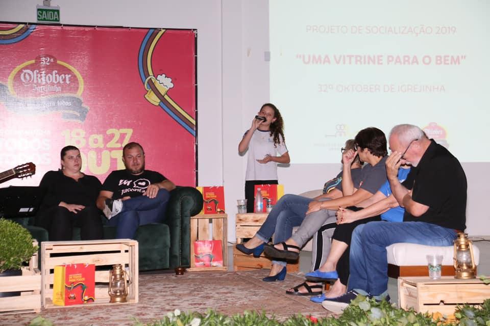 Lançamento do projeto de socialização