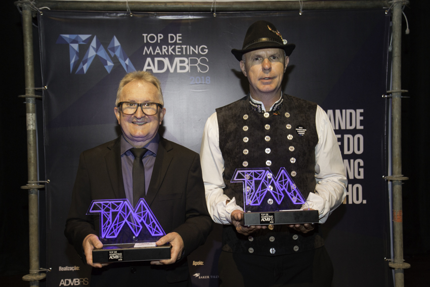 Oktober recebe a premiação  Top de Marketing da ADVB/RS em Porto Alegre