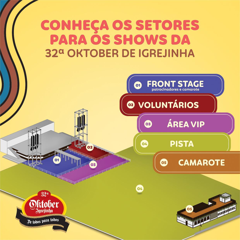 Oktoberfest de Igrejinha começa a venda de ingressos para camarote e área vip