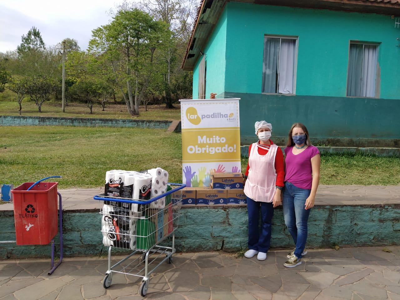 Vitrine do Bem: 'Die Liebe' beneficia Lar Padilha e hospital com doações