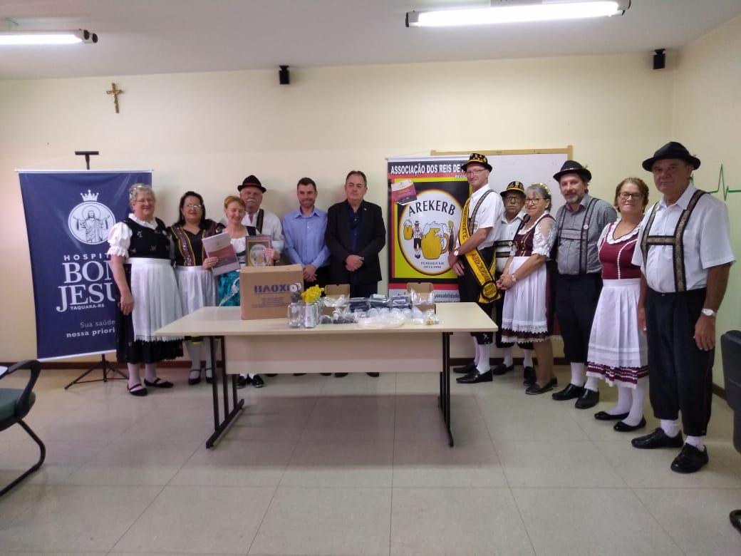 SOCIALIZAÇÃO: Arekerb beneficia hospitais de Taquara e Três Coroas com ações sociais