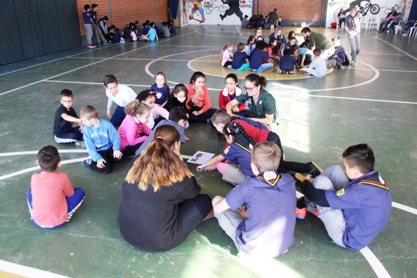 SOCIALIZAÇÃO:  projeto nacional de Educação Escoteira é realizado em Igrejinha