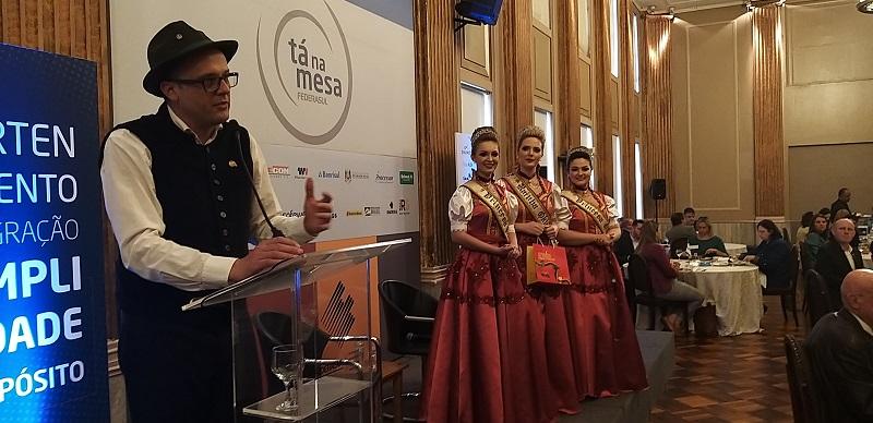 Festa ganha destaque no 'Tá na Mesa' promovido pela Federasul