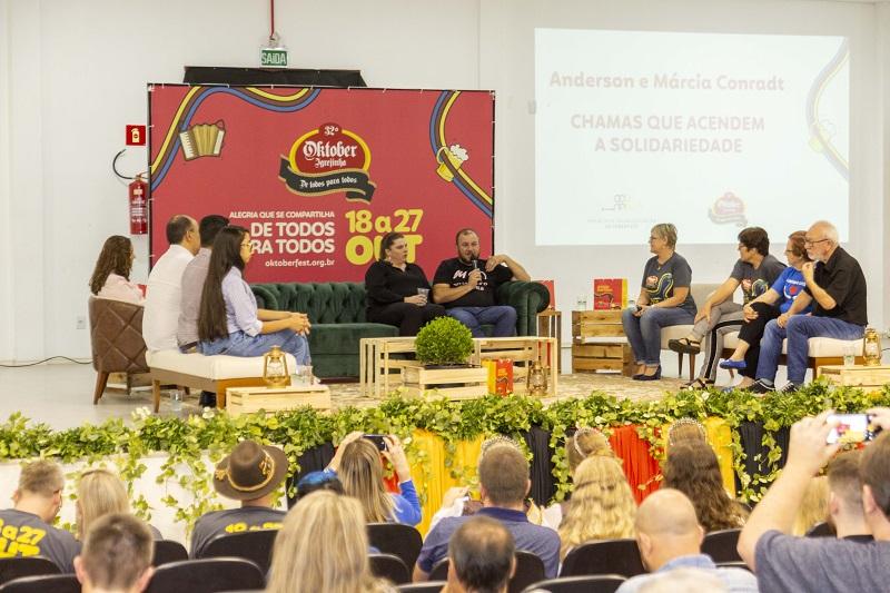 Projeto de Socialização da Oktoberfest de Igrejinha incentiva ações solidárias