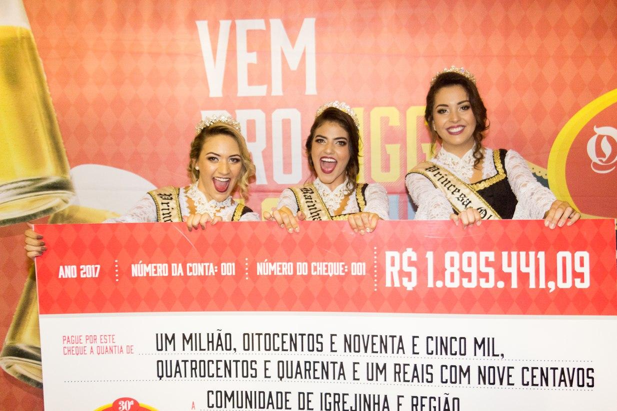 Mais de R$ 1,2 milhão são entregues para entidades da região